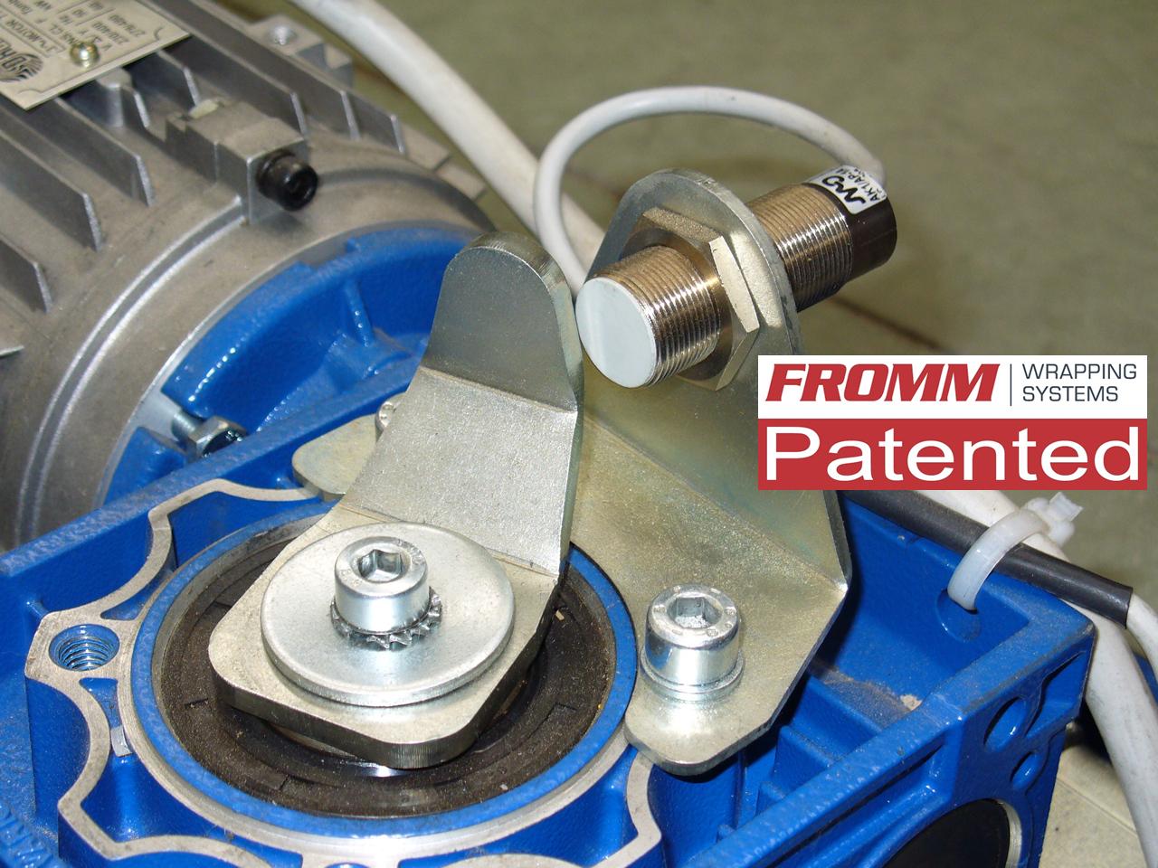 Fromm - ovijeci stroje - Motor s tlumičem nárazů