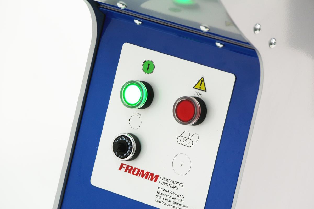 FROMM FV3xx - Řídící panel