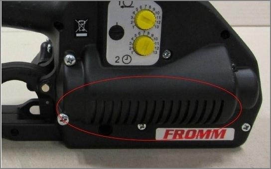 Fromm P328 - monitorování teploty motoru