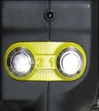 Fromm P328 - páskovač se dvěma tlačítky