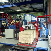 Vertikální automatický plastový páskovací stroj