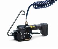 Pneumatické páskovače na plastové pásky spojené bez spony